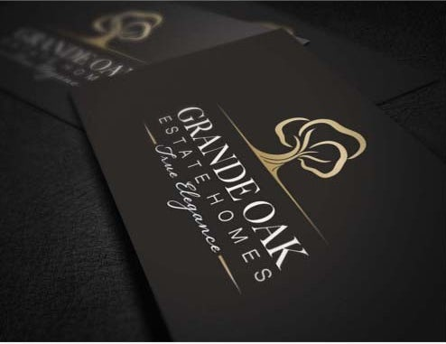 Grande oak business card