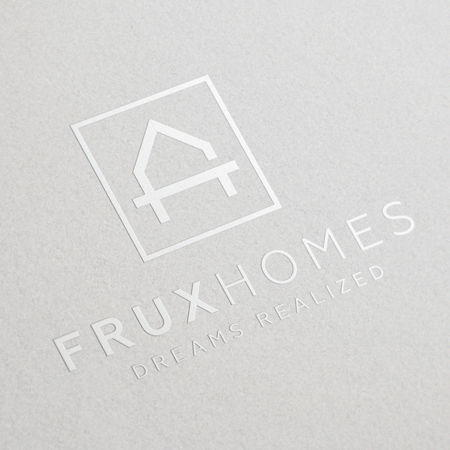 Frux Homes business card