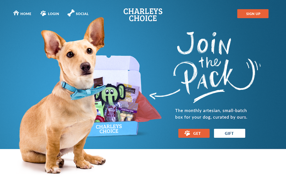 Charleys Choice Web Design