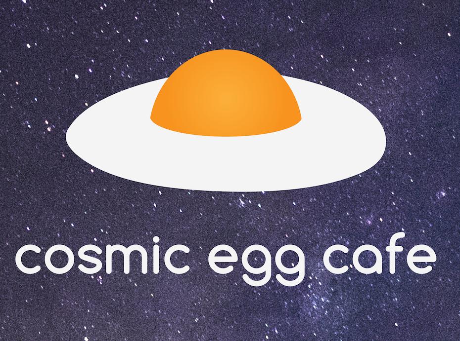 Cosmic Egg Cafe logo