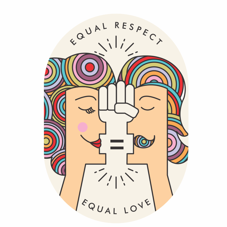 Equal respect equal love logo
