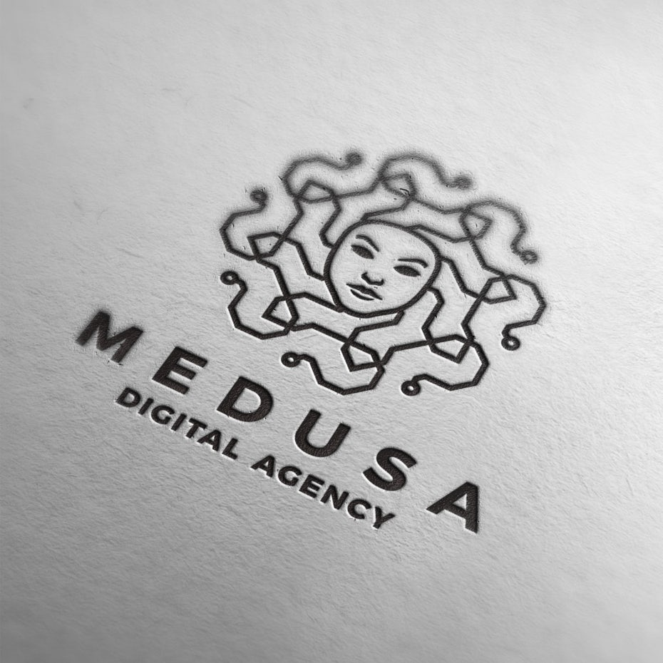 Medusa digital agency logo