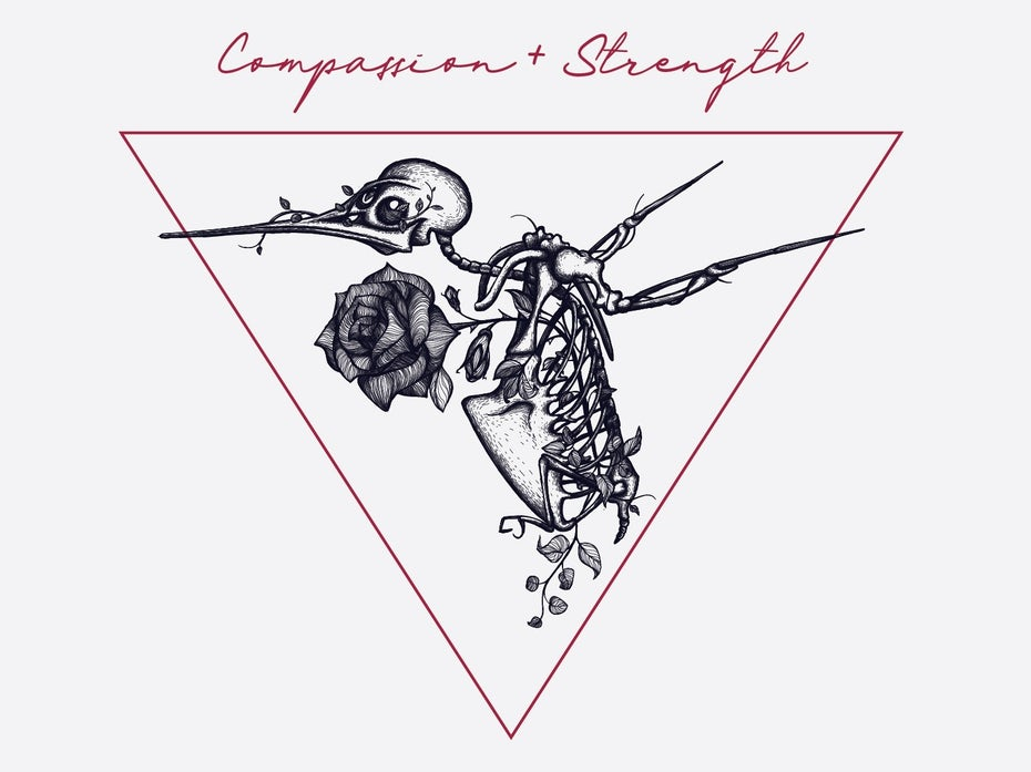Compassion + Strength logo
