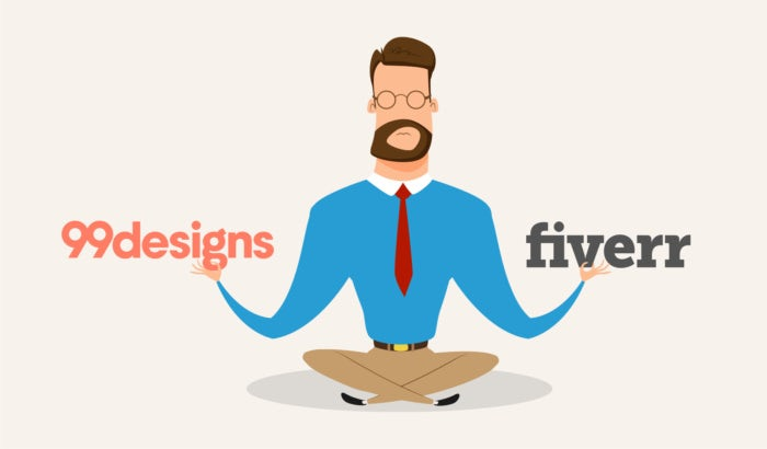 99designs vs  fiverr: which is the best choice for graphic design