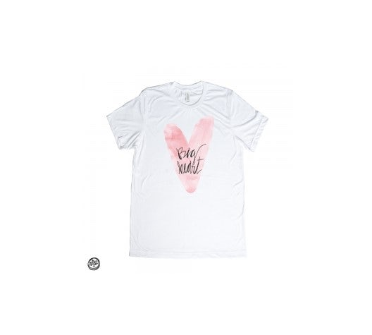 Big Heart Watercolor t-shirt