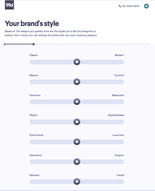 99designs briefing for logo design