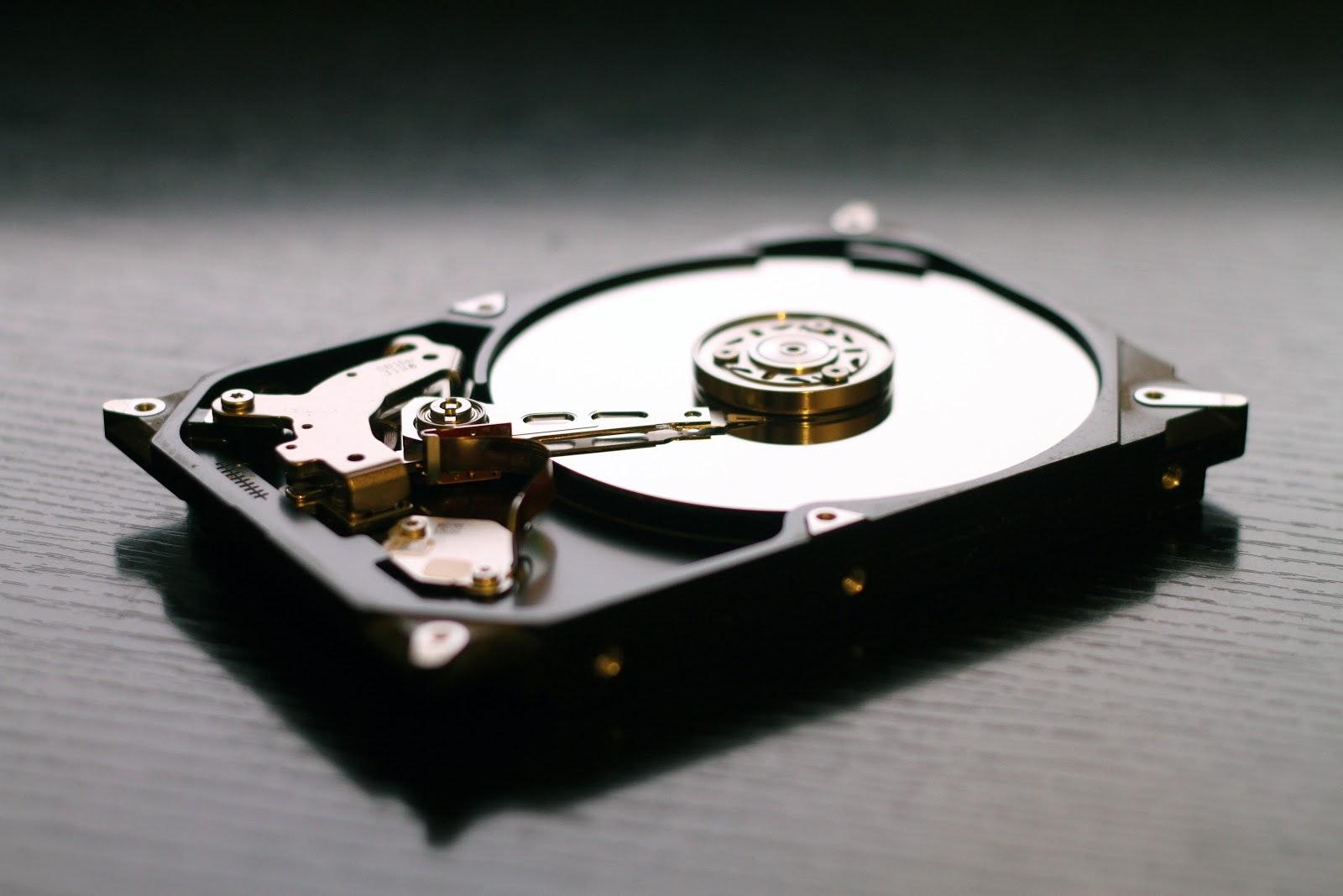 Photo of a hard drive