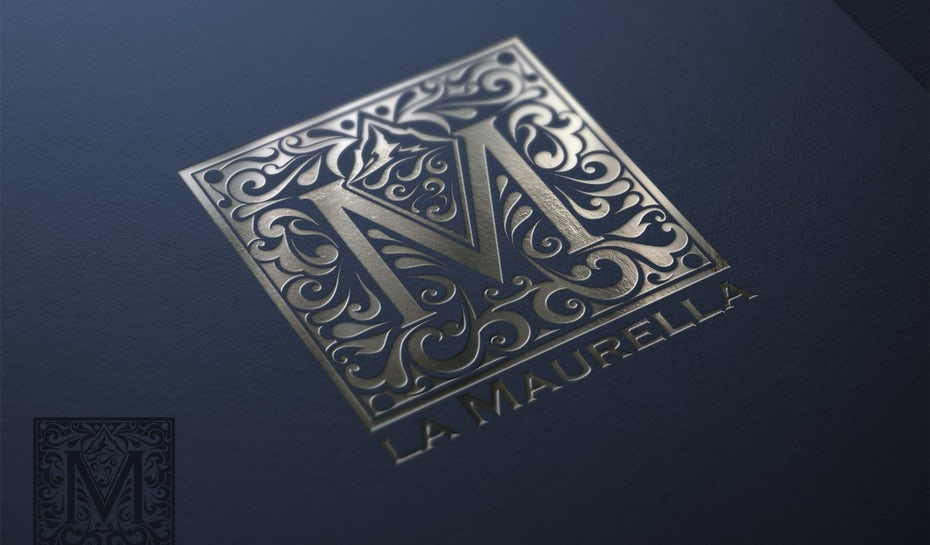 49 metallic logos that are totally solid