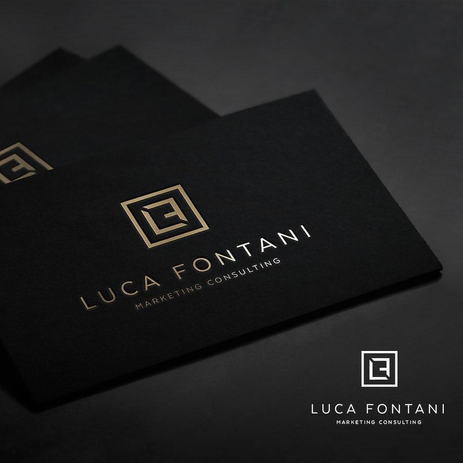 Luca Fontani logo