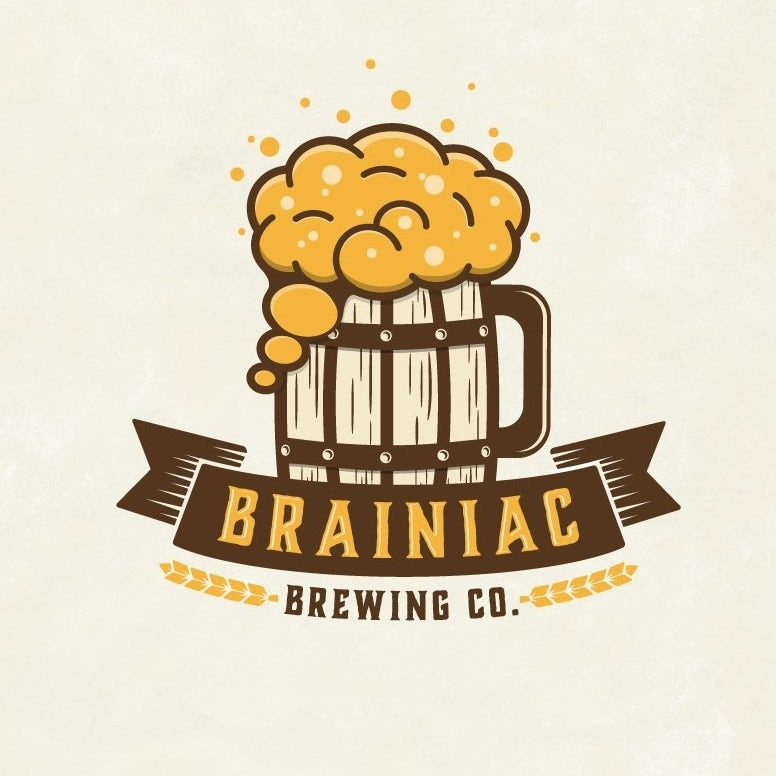 Brainiac Brewing Co. logo