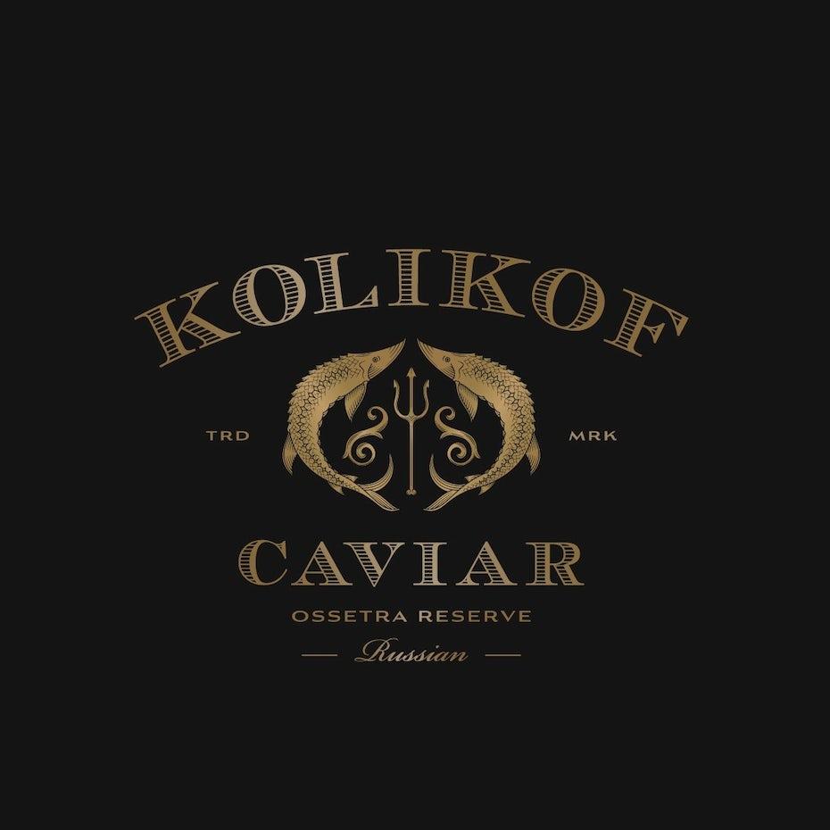 Kolikof Caviar logo