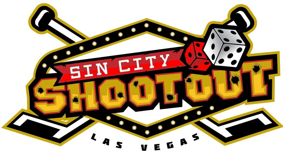 Vegas hockey tournament logo