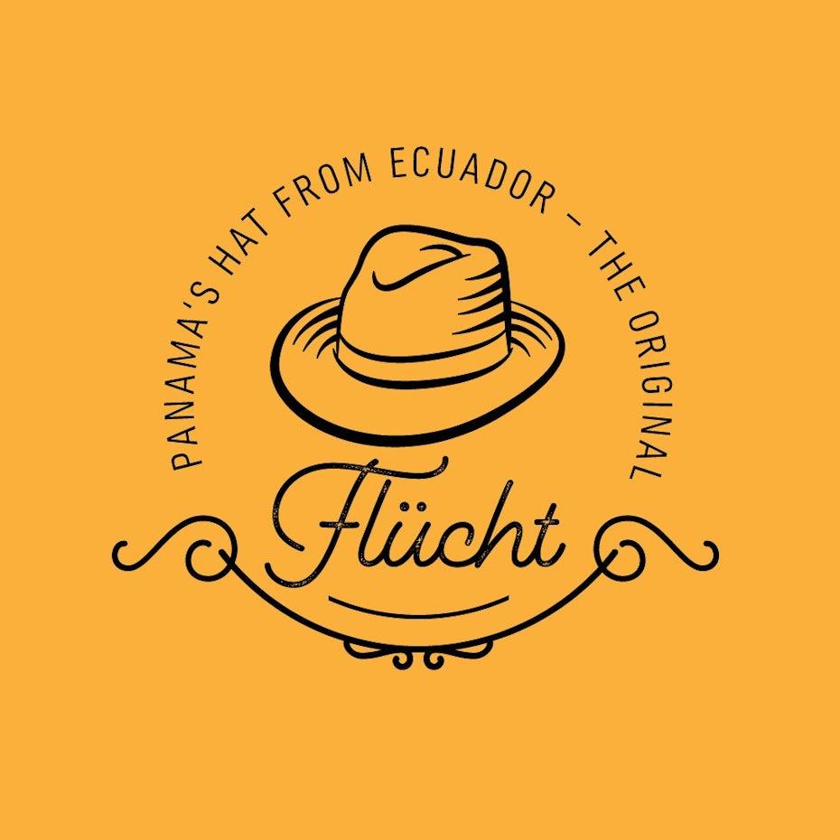 Flucht hat logo