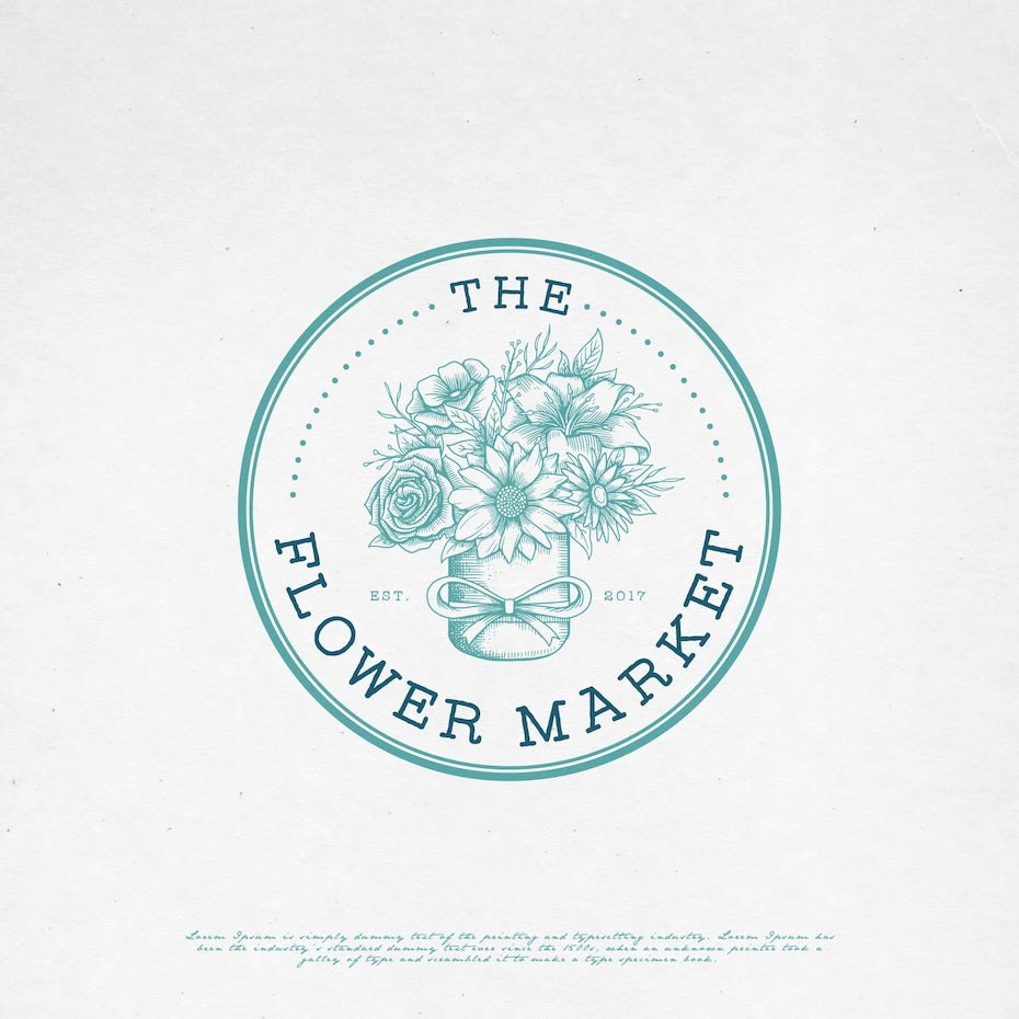 The Flower Market logo