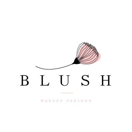 Blush Makeup Parlour logo