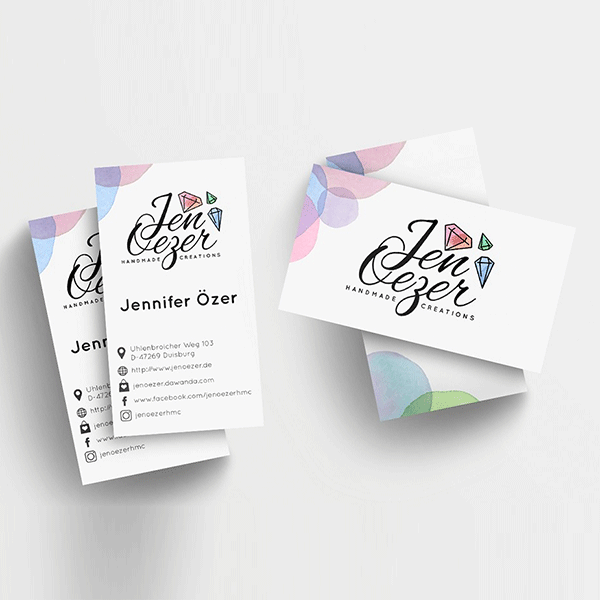 fashion brand logo and business card