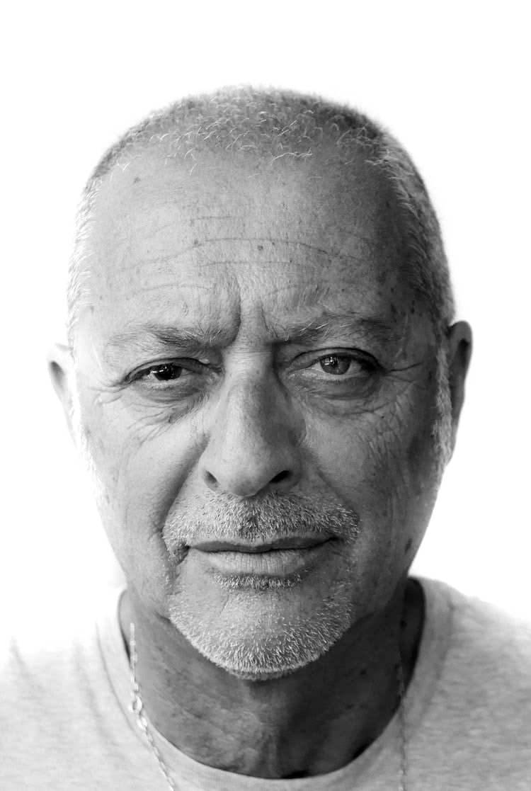 Headshot of older man