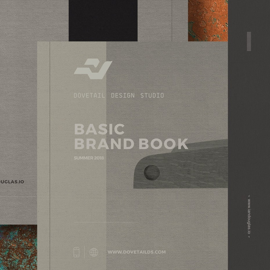 Basic Brand Book cover design