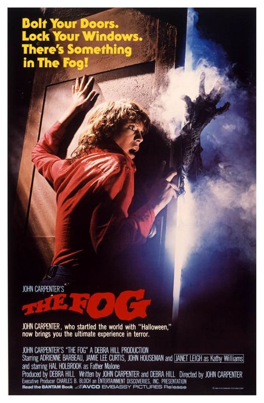 "Film poster for 1980's ""The Fog"""