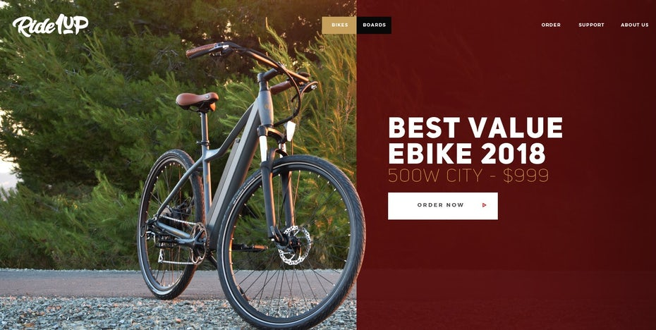 Bike Website-Design