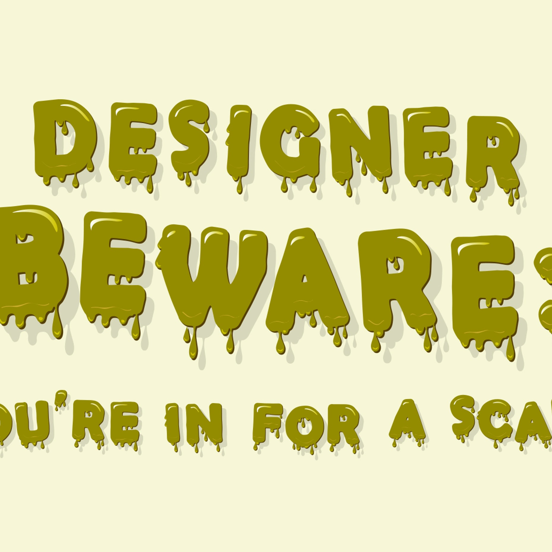 Typography Lessons From The Horror Genre 99designs