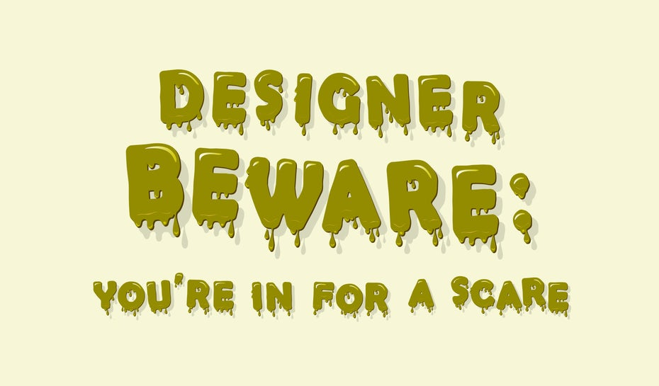 Typography lessons from the horror genre