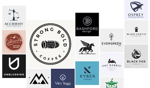 33 monochrome logos that are the new black