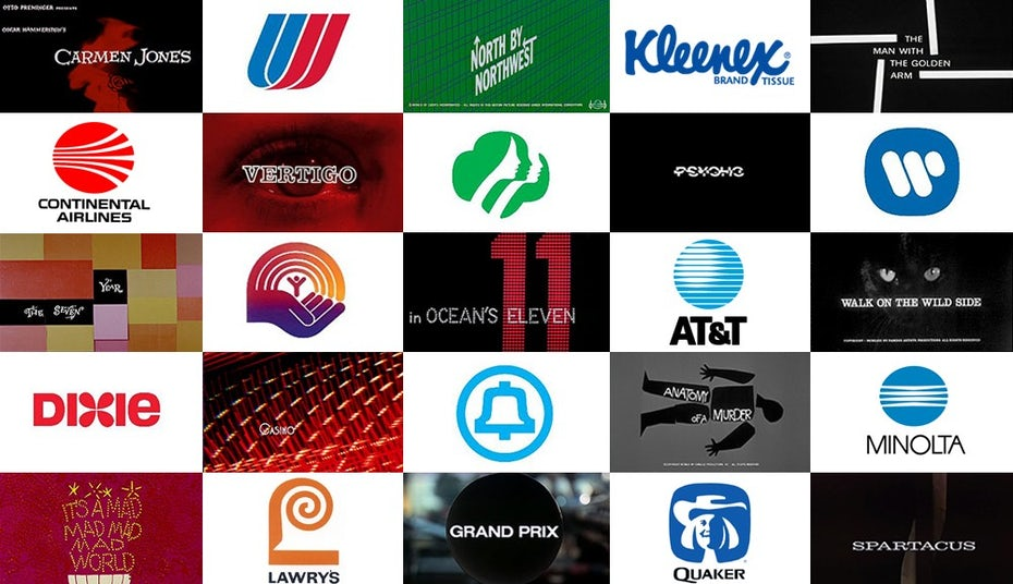 Logos by Saul Bass