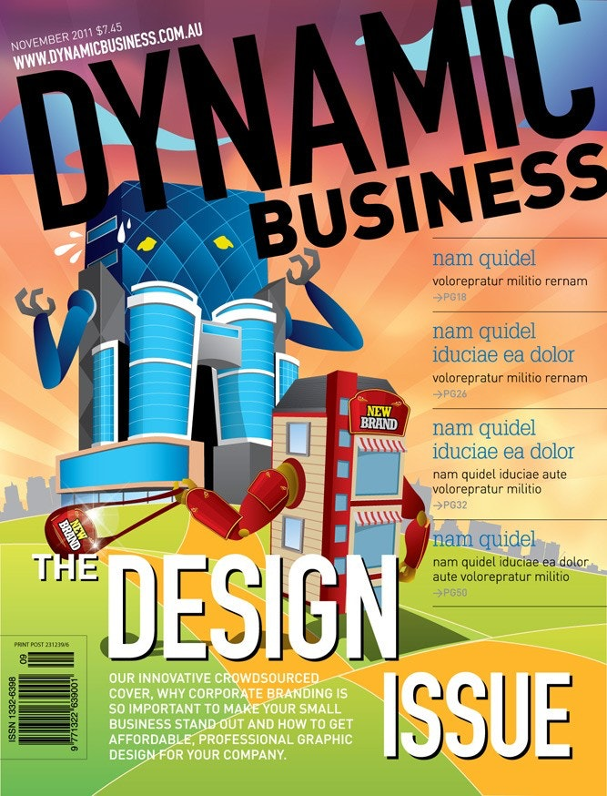 Dynamic Business magazine cover