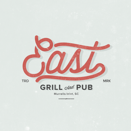 A vintage style typographic logo