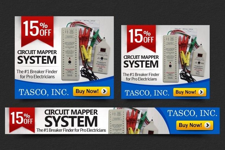Tasco banner ad design