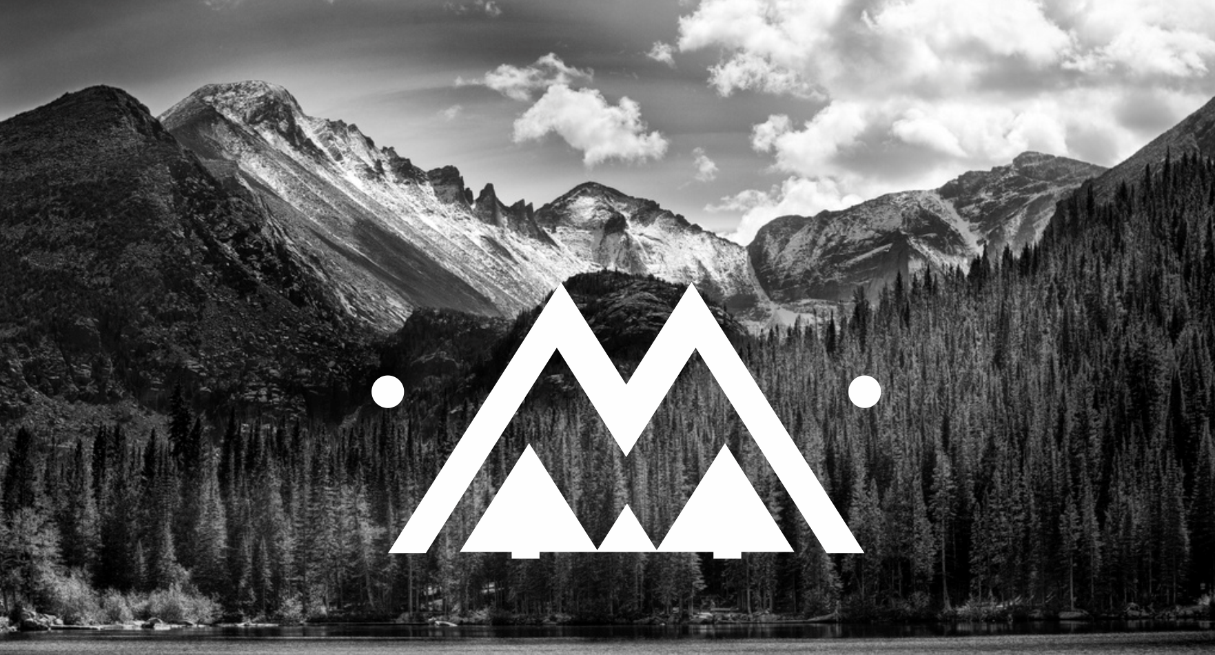 Mountain-themed logo