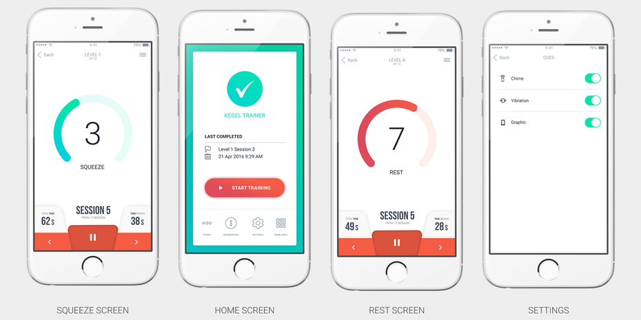 Health app design