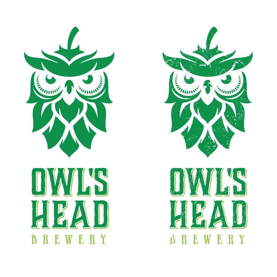Owl's Head Brewery logo
