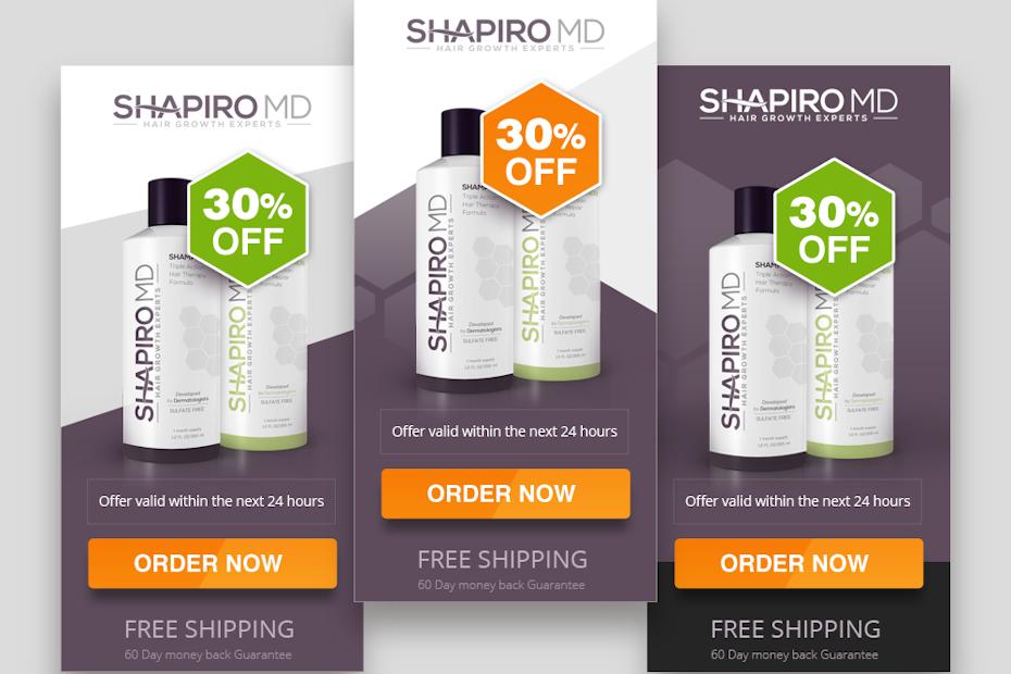 Shapiro MD Banner ad design
