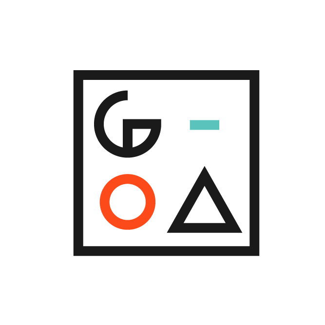 Geometric square logo