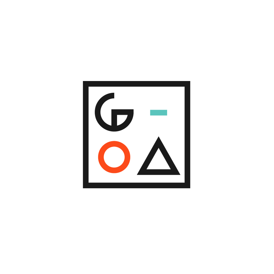 Geometric square logo
