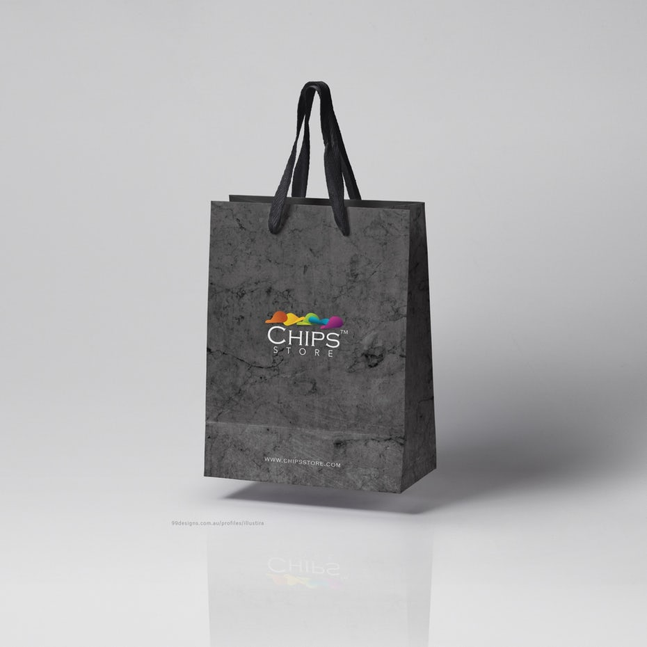 Chips Store Shopping Bag