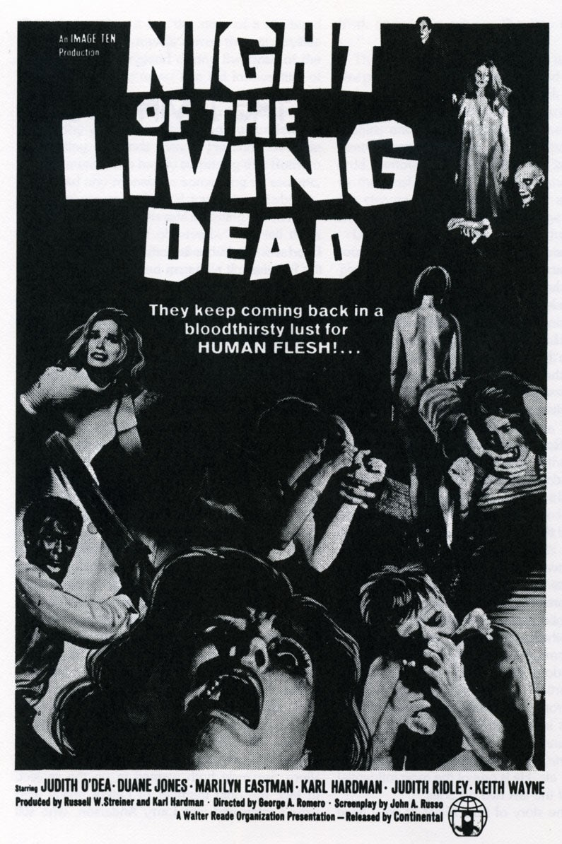 Original Night of the Living Dead poster