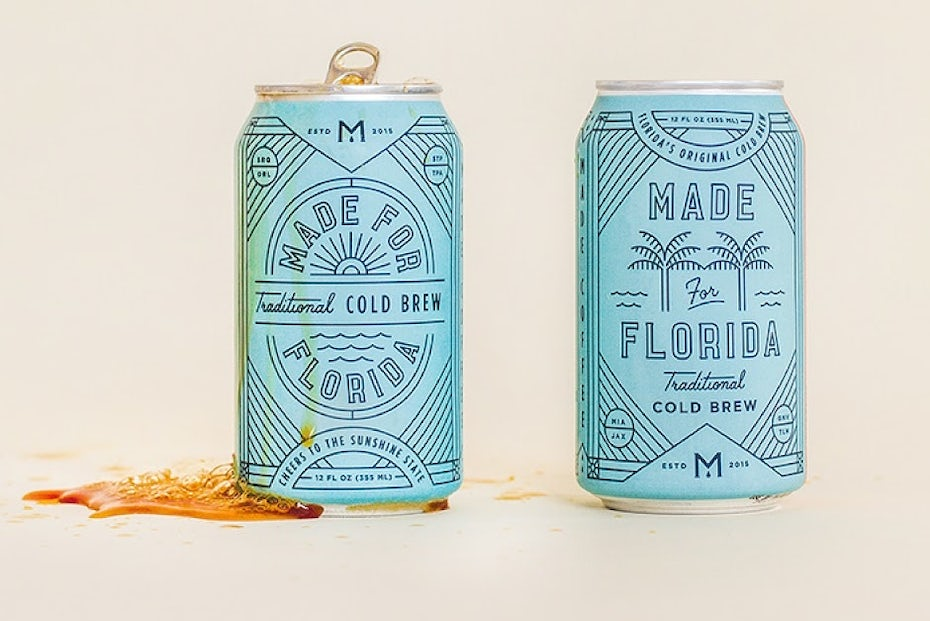 Made for Florida beer cans