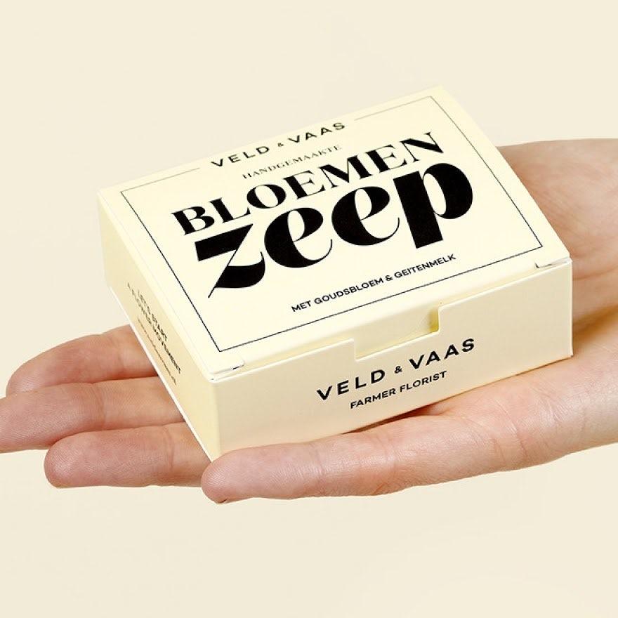 Bloemen Zeep box design