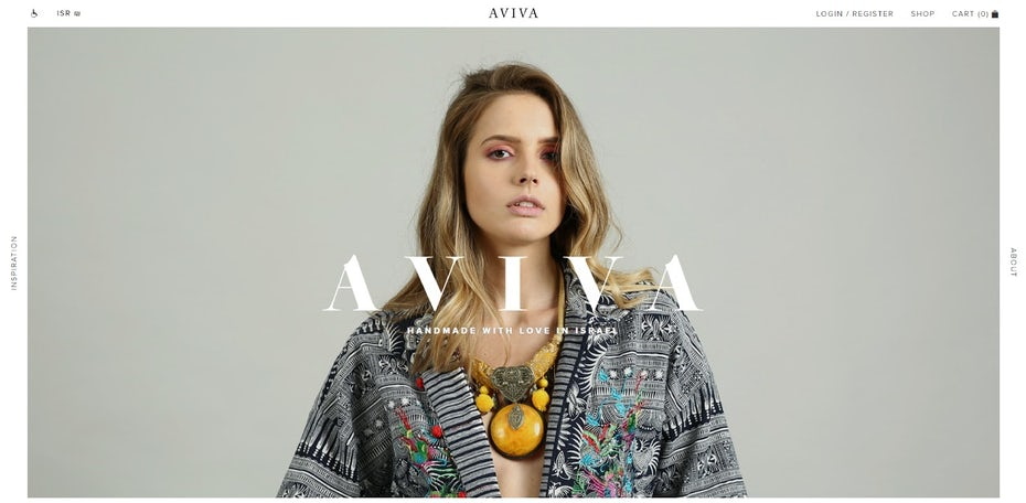 Aviva website