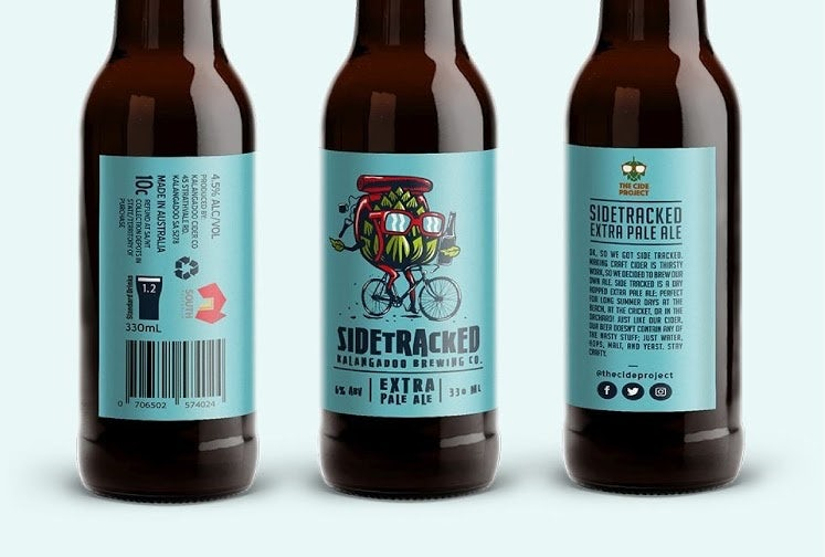 Sidetracked beer design