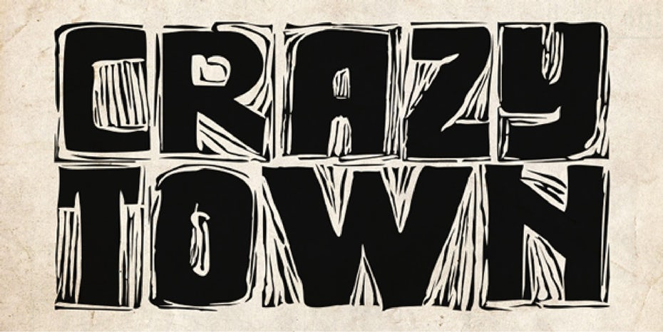 Crazy Town blocky logo