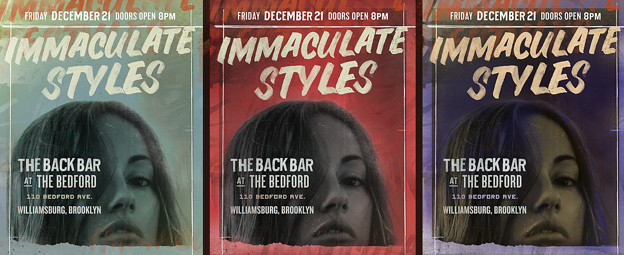 Immaculate Styles concert poster