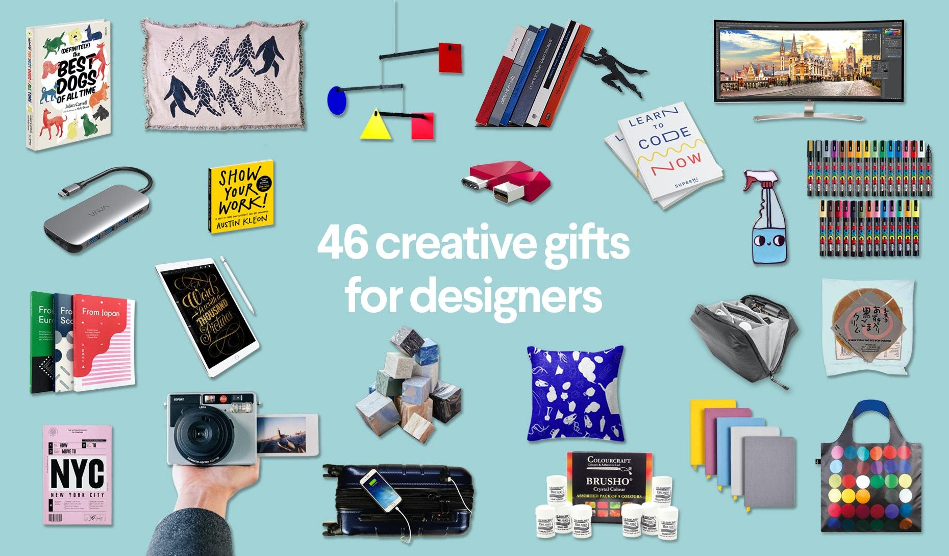 Kreative geschenkideen fur grafiker und designer