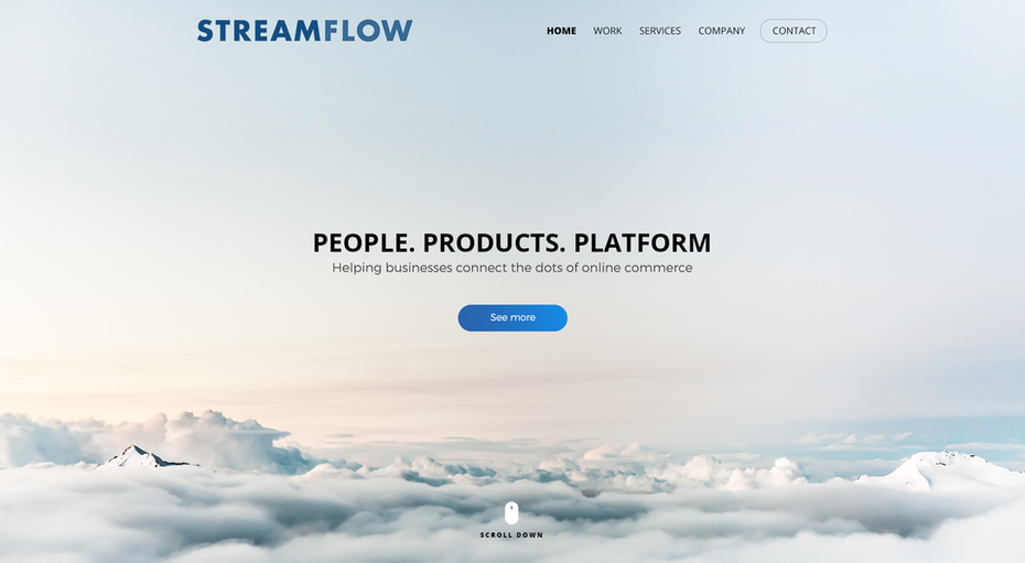 Streamflow web design