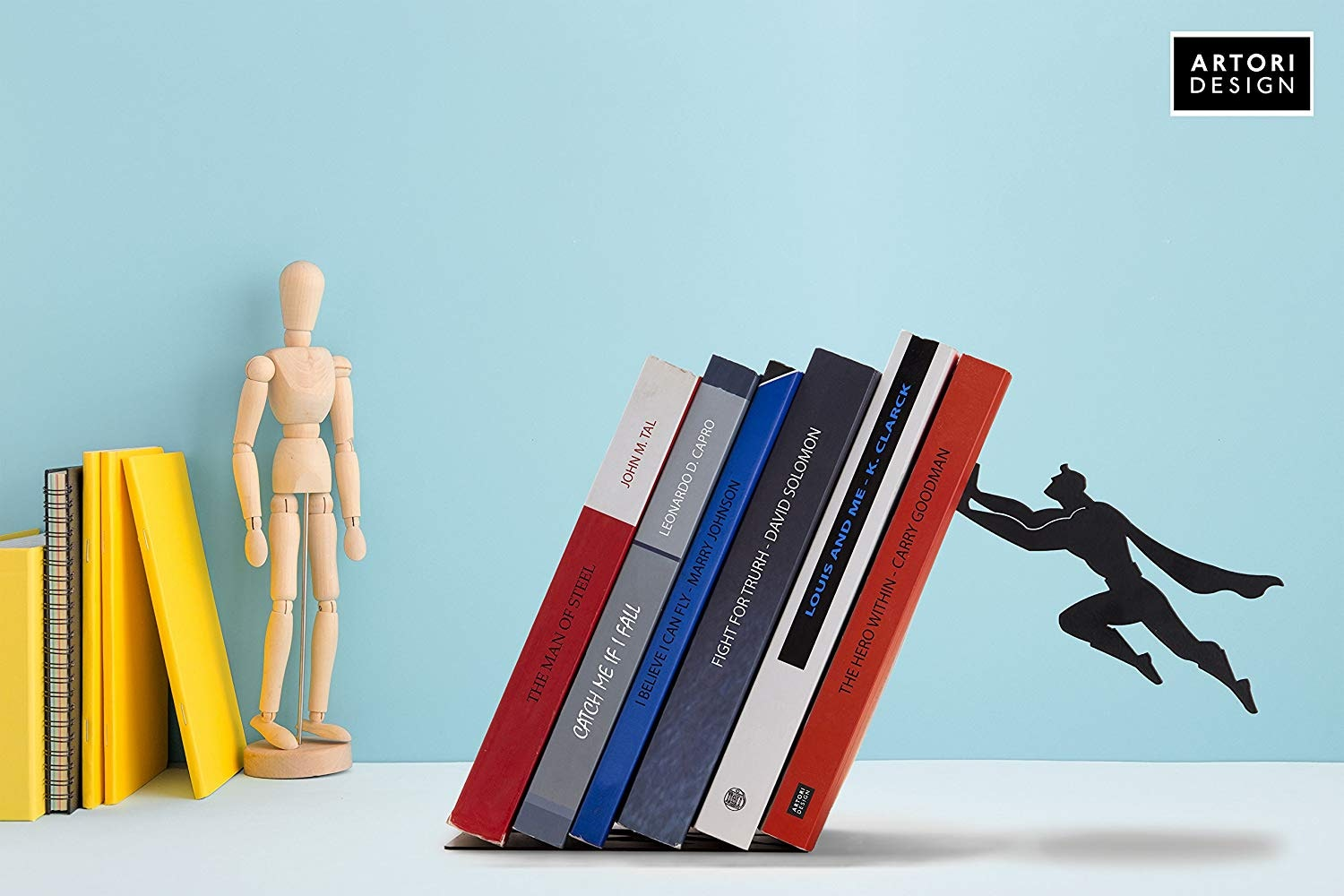 Atori design superhero bookends
