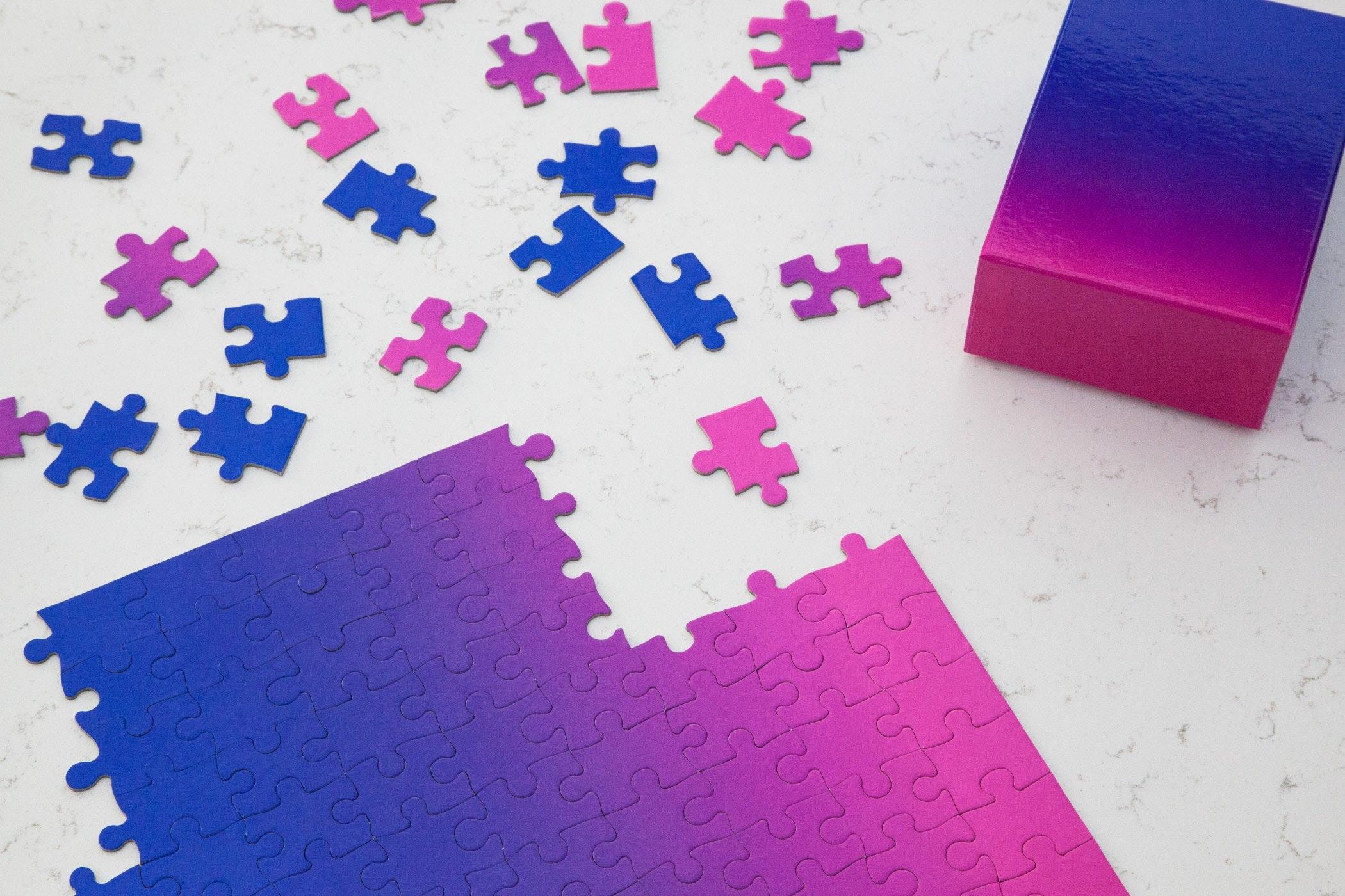 Bryce Wilner gradient puzzle