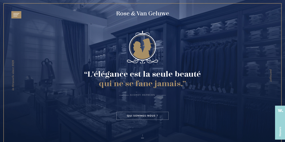 Rose & Van Geluwe web design  10 innovative web design trends for 2019 Screen Shot 2018 11 14 at 3